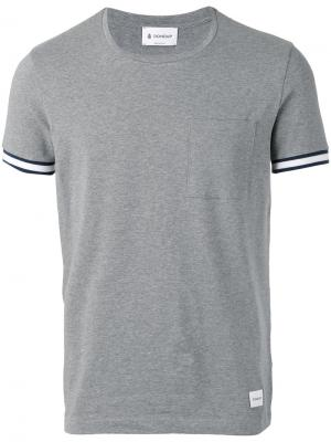 Chest pocket T-shirt Dondup. Цвет: серый