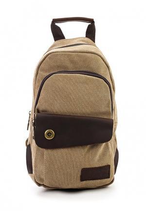 Рюкзак Polar. Цвет: бежевый