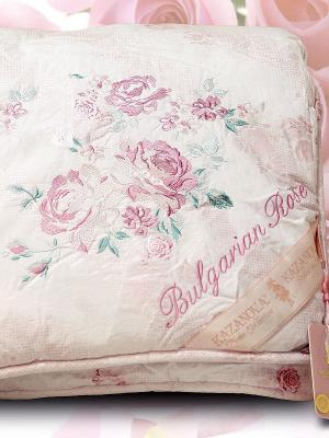 Одеяла,Organic Fibers Bulgarian Rose, 200х220см KAZANOV.A.. Цвет: розовый