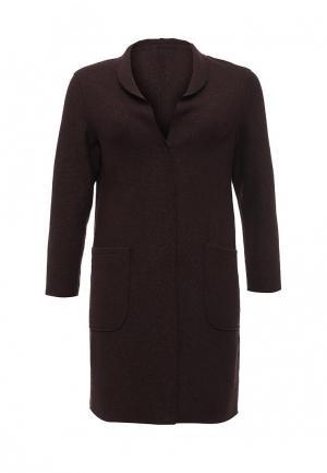 Пальто W&B. Цвет: коричневый