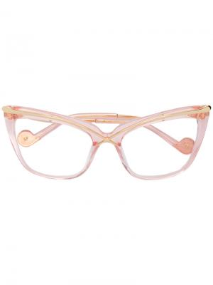 Очки Lusciousness Divine Anna Karin Karlsson. Цвет: розовый и фиолетовый