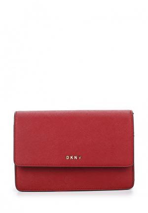 Сумка DKNY. Цвет: красный
