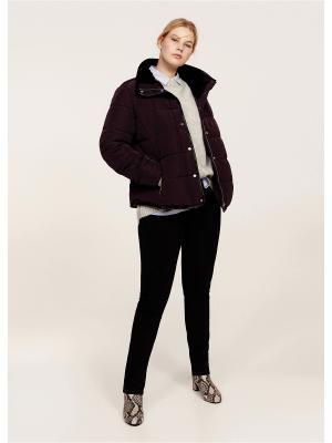 Куртка - THREAD1 Violeta by Mango. Цвет: темно-красный