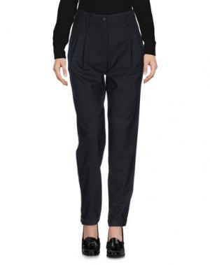 Повседневные брюки IRMA BIGNAMI. Цвет: свинцово-серый