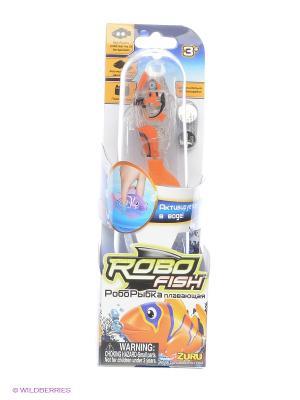 Тропическая РобоРыбка Акула ZURU. Цвет: оранжевый