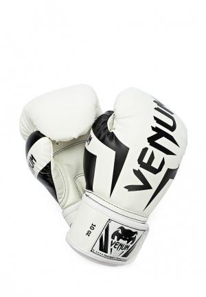 Перчатки боксерские Venum. Цвет: белый