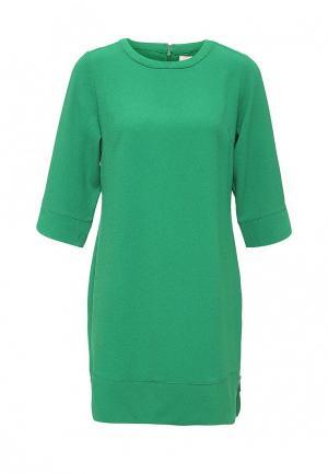 Платье Just Joan. Цвет: зеленый