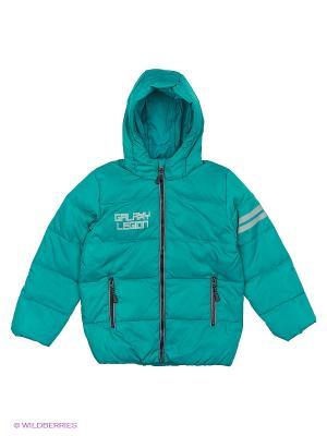 Куртка PlayToday. Цвет: зеленый