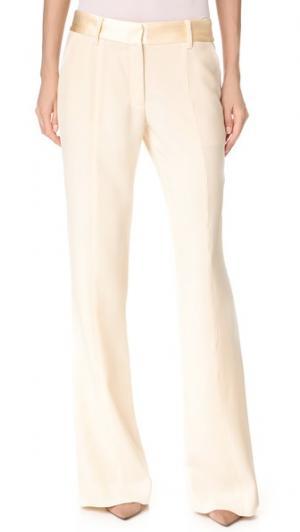 Классические буткат-брюки Prabal Gurung. Цвет: золотой