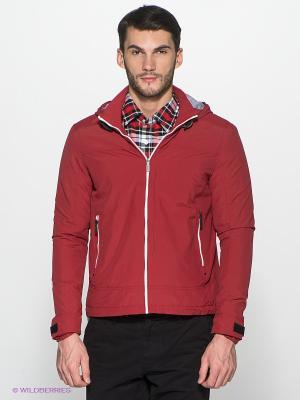 Куртка ALF SPORT. Цвет: бордовый
