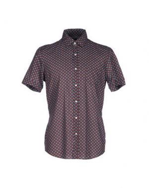 Pубашка MESSAGERIE. Цвет: коричневый