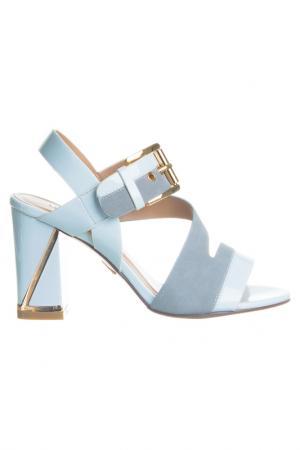 High heels sandals Laura Biagiotti. Цвет: white, grey