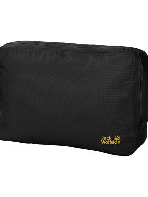 Сумка ALL-IN 10 POUCH Jack Wolfskin. Цвет: черный