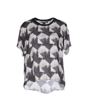 Блузка THEYSKENS' THEORY. Цвет: черный