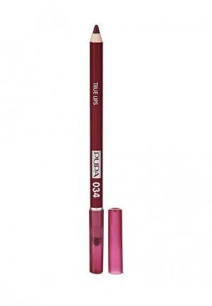 Карандаш для губ Pupa. Цвет: бордовый