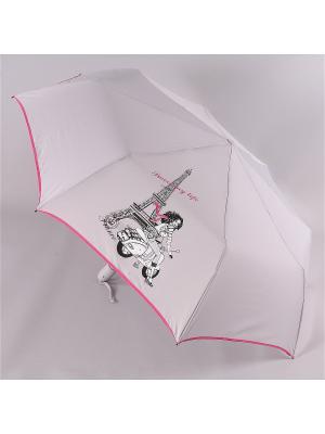 Зонт Airton. Цвет: светло-серый, розовый