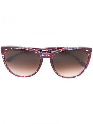 Солнцезащитные очки Swappy Thierry Lasry. Цвет: красный