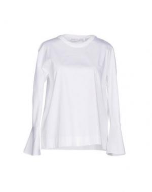 Блузка GUGLIELMINOTTI. Цвет: белый