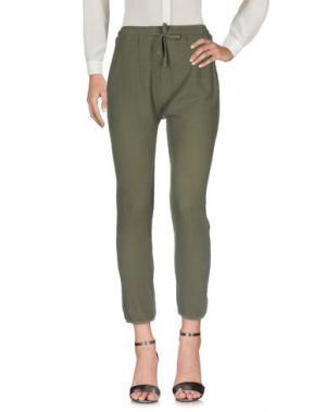Повседневные брюки CROSSLEY. Цвет: зеленый-милитари