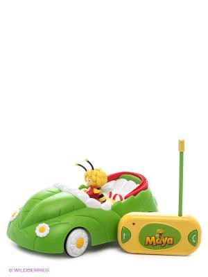 Радиоуправляемая Машина с фигуркой IMC toys. Цвет: салатовый, желтый