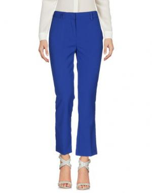 Повседневные брюки CHARLOTT. Цвет: ярко-синий