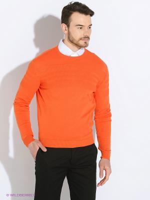 Джемпер MAER. Цвет: оранжевый