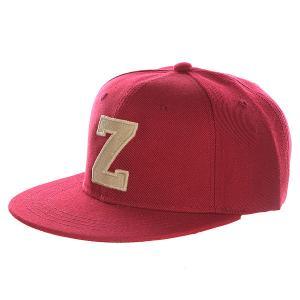 Бейсболка с прямым козырьком Truespin Abc Bordo Z. Цвет: бордовый