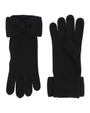 Перчатки MARC BY JACOBS. Цвет: черный