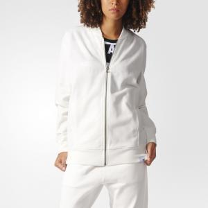 Олимпийка XbyO  Originals adidas. Цвет: белый