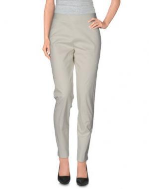 Повседневные брюки MAISON LAVINIATURRA. Цвет: слоновая кость