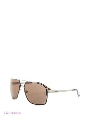 Солнцезащитные очки CARRERA. Цвет: серый, светло-коричневый