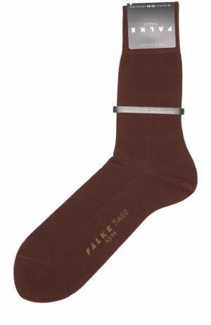 Хлопковые носки Tiago Falke. Цвет: коричневый