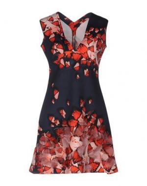 Короткое платье CLOVER CANYON. Цвет: темно-синий