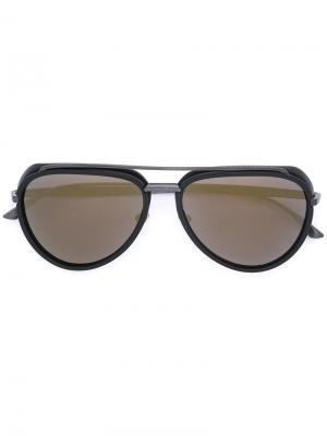 Солнцезащитные очки Regulus Masunaga. Цвет: чёрный