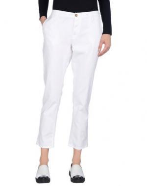 Повседневные брюки TRUE NYC.. Цвет: белый