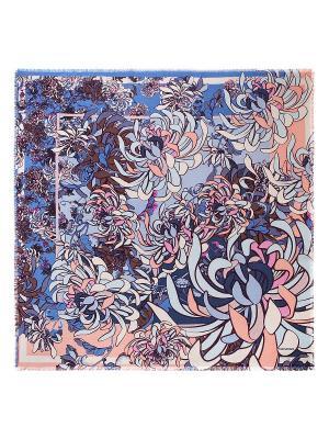 Платок Eleganzza. Цвет: коричневый, голубой, темно-бежевый