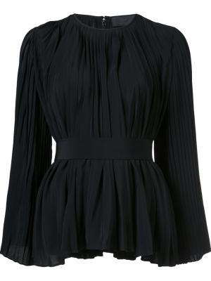 Плиссированная блузка Co. Цвет: чёрный