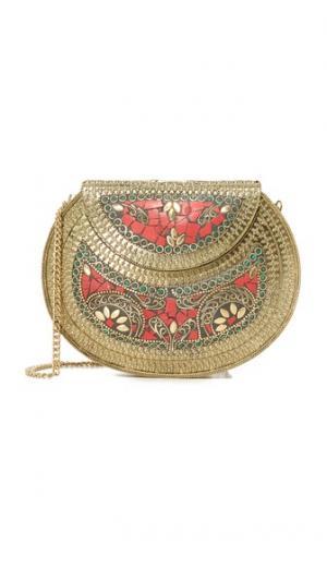 Седельная сумка с металлической отделкой Zhuu