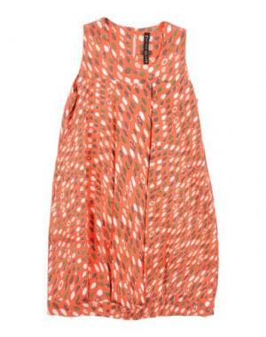 Платье MANILA GRACE. Цвет: оранжевый