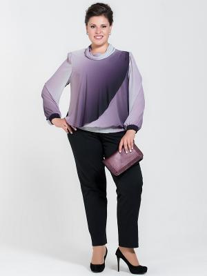 Блузка Silver-String. Цвет: сиреневый