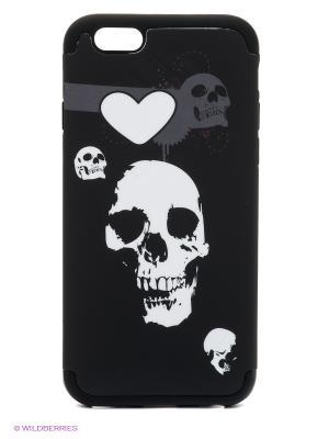 Чехол для iphone 6 WB. Цвет: темно-коричневый, темно-серый