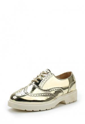 Ботинки Diamantique. Цвет: золотой