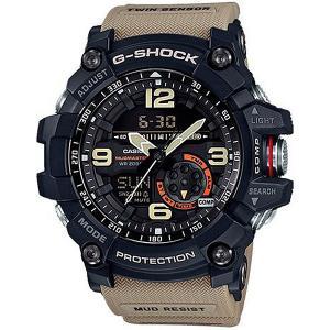 Электронные часы  Premium Gg-1000-1a5 Navy/Beige Casio G-Shock. Цвет: синий,бежевый