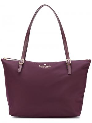 Сумка-шоппер Watson Lane Maya Kate Spade. Цвет: розовый и фиолетовый