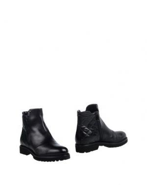 Полусапоги и высокие ботинки FRATELLI KARIDA. Цвет: черный