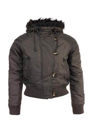Куртка утепленная Lucid. Цвет: хаки