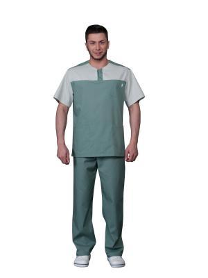 Костюм MediS. Цвет: серо-зеленый