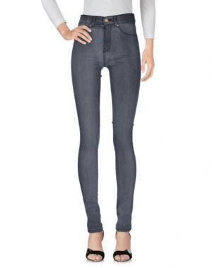 Джинсовые брюки DR. DENIM JEANSMAKERS. Цвет: свинцово-серый