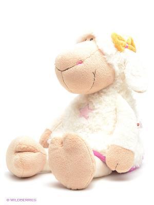 Мягкая игрушка Овечка Эми  NICI. Цвет: молочный, бежевый