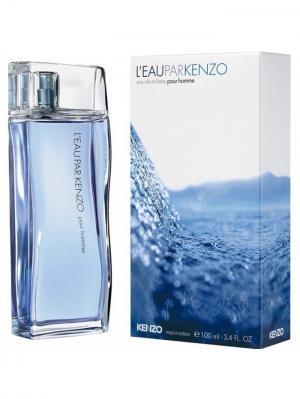 Leau Par man, Туалетная вода, 100 мл KENZO. Цвет: белый, синий